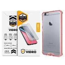 Kit Capa Ultra Slim Air Rosa e Película de vidro dupla para Iphone 6s plus  Gshield - Apple