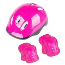 Kit capacete rosa - Fenix