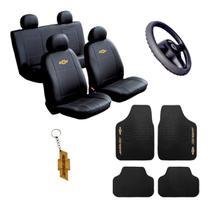 Kit Capas Bancos Automotivo Sintético Onix 2020 - Chevrolet