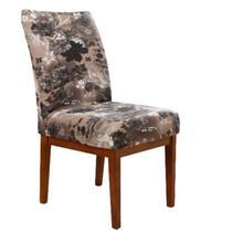 Kit Capas Cadeiras Mesa 6 Lugares Sala de Jantar Adele - Charme Do Detalhe
