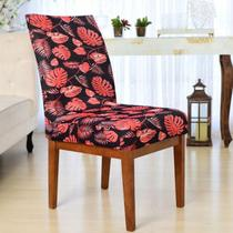 Kit Capas Cadeiras Mesa 6 Lugares Sala de Jantar Beth - Charme Do Detalhe