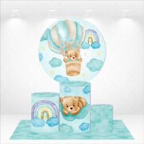 Kit capas de painel e cilindros + tapete urso baloeiro - Design & Cia Brasil