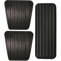 Kit Capas de Pedal Freio Embreagem e Acelerador para Monza Kadett Corsa Chevette - Ref: 6078 - Mil Peças