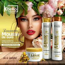 kit Capilar Mousse de Ouro 400 ml kbello - Kbello Cosmeticos