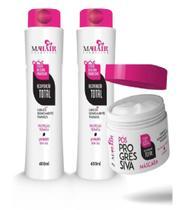 Kit Capilar Pós Progressiva - Mahair - Shampoo + Condicionador + Máscara -