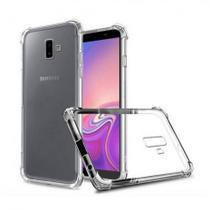Kit Capinha Antichoque Galaxy J6 Plus + Película Vidro - HREBOS