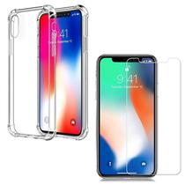 Kit Capinha Antichoque + Película Gel Iphone XR - Hrebros