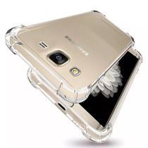 Kit Capinha Antichoque + Película Gel Samsung Gram Prime G530 - Hrebros