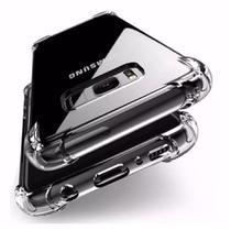 Kit Capinha Silicone Antichoque + Película Vidro 5D Preta Samsung S8 Plus - Hrebros