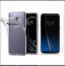 Kit Capinha ultra fina + Película Gel Samsung S8 - G950 - Hrebros