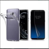 Kit Capinha ultra fina + Película Gel Samsung S8 Plus G955F - Hrebros