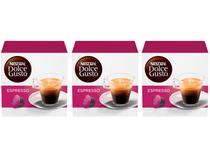 Kit Cápsula de Café Espresso Nescafé Expresso  - Arábica Dolce Gusto 48 Cápsulas