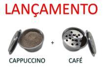 Kit Cápsula Grain Black Café E Cappuccino Dolce Gusto Alumínio -