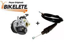 Kit Carburador Mobilette Original Bikelete Com Cabo - Moby