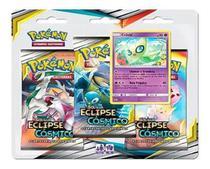 Kit Cards Cósmico Colecionador Qualidade Pokémon Celebi - Copag