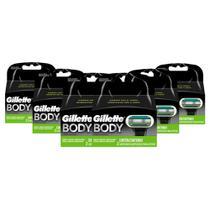 Kit Carga Gillette Body com 12 Unidades -
