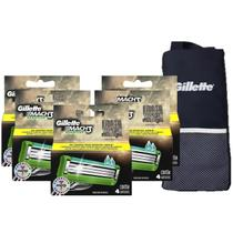 3d75e23d3c445 Kit Carga Gillette Mach3 Sensitive c/ 20 + Porta Chuteira