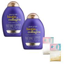 Kit Carnaval OGX Biotin & Collagen 385ml -