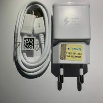 Kit Carregador Original Samsung Turbo Micro Usb V8 J7 J7 Neo -
