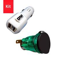 Kit Carregador USB + Tomada - DNI 0585 - 0579 -