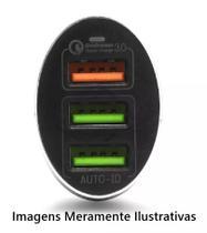 KIT Carregador Veicular  + Cabo USB (Lightning) - Global