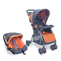 Kit Carrinho E Bebê Conforto Travel System Baby Style -