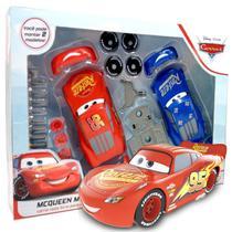 Kit Carrinhos Relâmpago Mcqueen Pixar Disney Monta e Desmonta Brinquedo Criança A partir dos 3 Anos Toyng -