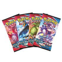 Kit Cartas Pokémon Booster com 6 Pacotes 36 Cartas - Estilos de Batalha - Copag