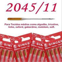 Kit cartela de agulha singer malha 204511 c/5 - 50 agulhas -