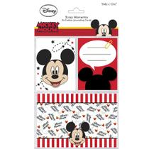Kit Cartões para Scrap Momentos Disney Mickey Mouse KCSMD02 - Toke e Crie -