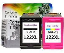 Kit Cartucho compatível 122XLPreto + Colorido 122 XL Deskjet - Jet Tech