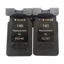 Kit Cartucho Compatível Canon PG-140 CL-141 MX371 MX431 MX451 MX511 MX521 - Chinamate