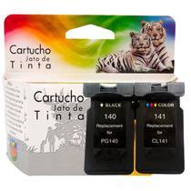 Kit Cartucho Compatível Canon Pg-140 + Cl-141  Mx511 Mx521 - JET TECH