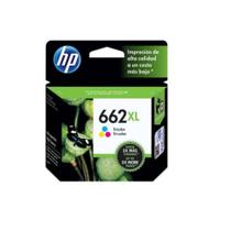 Kit Cartucho De Tinta Hp  662 Xl Cz105ab Preto + 662xl Color Cz106ab
