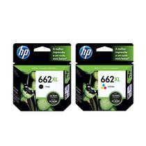 Kit Cartucho Hp 662xl Black  662xl Color Alto Rendimento Original