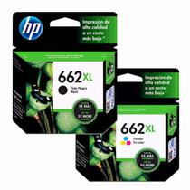 Kit Cartucho Hp 662xl Black  662xl Color Alto Rendimento