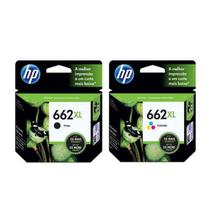 Kit Cartucho Hp 662xl Preto E 662xl Color
