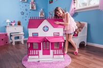 Kit Casa Bonecas Barbie E Móveis Lian Sonhos S+B - Darama -