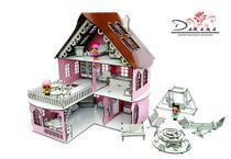 Kit casa de bonecas com 29 moveis para mini bonecas cindy princesa - darama -