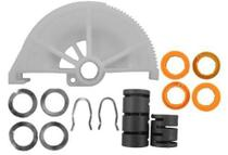 Kit catraca embreagem ford escort zetec 1.8 16v  1997 a 2002 100018 corcerama