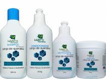 Kit Cauterização Tratamento Capilar Hidratação Profissional - Hábito Cosméticos