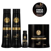 Kit Cavalo Forte (Sh + Condic + Masc + Comp Fort) 500ml- Haskell -