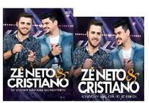 Kit CD+DVD Zé Neto & Cristiano - Ao Vivo em S. J. Rio Preto - Som Livre