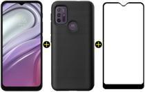 Kit Celular Motorola Moto G20 Azul 64GB + Capa Triangle + Pelicula Y-Protection -