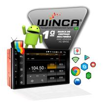 Kit Central Multimidia Android Winca Cruze 2011 A 2014 Tv Gps Bt + Moldura & Chicote Instalação -