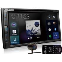Kit Central Multimídia AVH-Z5280TV Pioneer 6,8 Pol BT DVD Touch Weblink Android Iphone Tv + Câmera de ré -