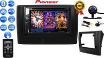 Kit Central Multimidia Dvd 2Din Mp5 Pioneer Avh-G228Bt Bluetooth Usb CD + Câmera Moldura Stilo 02/10 -