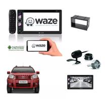 Kit Central Multimidia Dvd Ecosport + Moldura + Camera - E-tech
