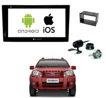 Kit Central Multimidia Dvd Ecosport + Tv + Espelhamento Ios - E-tech