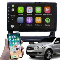"""Kit Central Multimídia Fiat Strada 2013 A 2019  GPS Tela 9"""" HD Bluetooth Câmera de Ré Espelha Android e iPhone - Genko"""